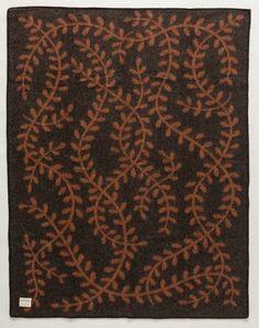 Magic Elf Forest Wool Blanket - Brown (1003)