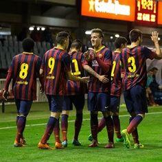 El FC Barcelona encantado con la UEFA Youth League. | UEFA Youth League - Noticias – UEFA.com