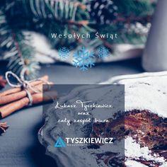 Wszystkim Państwu życzymy,  ..niech przestrzeń domowego ogniska wypełni zapach choinki i świątecznych pyszności, a spotkania z bliskimi będą okazją do wspólnego kolędowania i radosnego przeżywania atmosfery Bożego Narodzenia..  Samych dobroci na całe Święta!  Łukasz Tyszkiewicz oraz cały zespół biura Tyszkiewicz Nieruchomości Cards Against Humanity