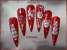@pelikh_ nailz christmas nail design