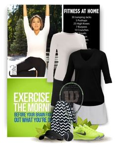 """""""Apparel for your Tennis and Fitness - Nicole's Tennis Boutique"""" by christiana40 ❤ liked on Polyvore featuring Jofit and NIKE"""