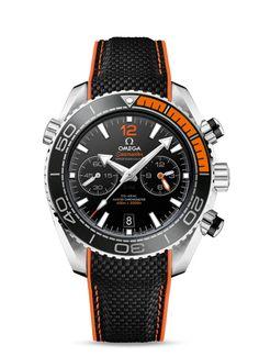 215.32.46.51.01.001 : Omega Seamaster Planet Ocean 600M Co-Axial Master Chronometer Chronograph Orange / Strap
