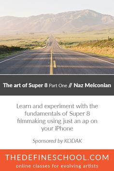 The Art of Super 8 Part One | Naz Malconian |  http://www.thedefineschool.com/learn/super-8-film-part-one/  #filmmakingclasses #super8filmmaking #theartofsuper8
