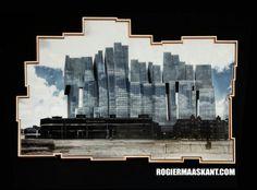 koolhaas building De Rotterdam http://cargocollective.com/rogiermaaskant/Delirious-Rotterdam