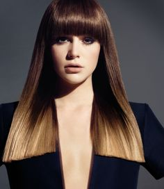 Chocolate Brown Hair Color Chocolate brown hair colour is an intriguing hair colour proposal when one is considering choosing what hair dye to go for. Types Of Hair Color, Hot Hair Colors, Color Your Hair, Brown Hair Colors, Hair Colour, Ombre Hair, 2015 Hair Color Trends, Rebonded Hair, Chocolate Brown Hair Color