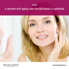 Citește articolul pentru a descoperi cele patru secrete anti-aging pe care le poți pune în aplicare și care te vor ajuta să recapeți din fermitatea pierdută a pielii și să obții un ten mai sănătos și neted.
