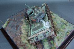 T 34, Model Tanks, Diorama, Model Building, Dioramas