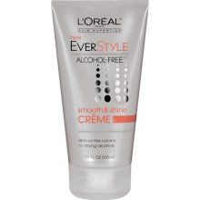 L Oreal Paris Everstyle Alcohol Free Smooth Shine Creme Oz Edit Great Smell Won T Dry Your Hair Out Takes Care Of Little Frizzies