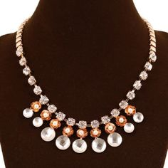 Rhinestone Statement Necklace Beautiful and chic! Jewelry Necklaces