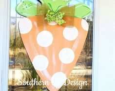 FALL TURKEY Wooden Door Hanger Door Decor by SouthernByDesignCo