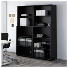 IKEA - GALANT Open storage combination black-brown