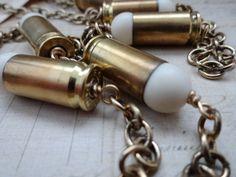 bullet casings necklace #bullets #gunporn #ammo