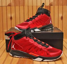 Nike Air Jordan Dominate Pro Size 11 - Black Red White Bred - 580610 607 in 7af0527ad
