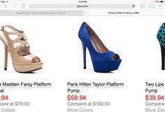 Bridesmaid shoe idea