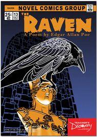The Raven Graphic Novel Literary Poster