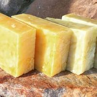 This is seriously the BEST hot process soap recipe around!!! It's adaptable to lots of natural colorants and essential oils too.