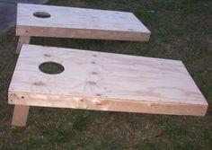 build cornhole boards