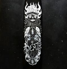 Custon longboards. KARTESS &Runaway Longboards
