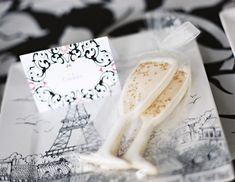Champagne glass cookies