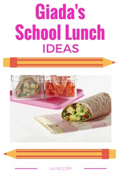 Giada tested, kid approved >> http://www.ulive.com/video/giadas-school-lunch-ideas #Back2school