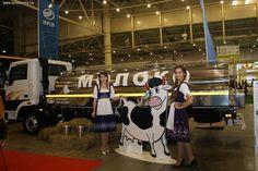 Компания «Юниверсал Моторз Групп» представила на международной выставке TIR 2014 автобусы ЗАЗ и спецтехнику на шасси грузовиков ТАТА - молоковоз, автовышку и мусоровоз.