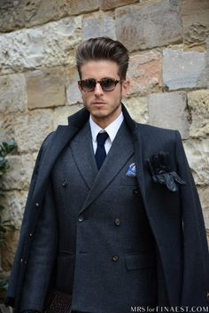 Men's Fashion: Pitti Uomo ladies do yourself a favor get your man a good trench coat .Fitted properly these coats  look good on just about everyone .