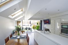 Velux windows instead of glass roof