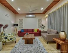 Clever and Stylish Living Room Storage Ideas House Ceiling Design, Ceiling Design Living Room, Bedroom False Ceiling Design, False Ceiling Living Room, Living Room Designs, Drawing Room Ceiling Design, False Ceiling For Hall, Living Room Partition Design, Room Partition Designs