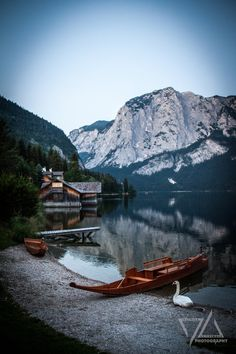the beauty of aussee - altaussee, austria
