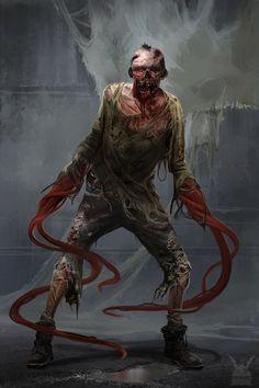 Apocalypse Character, Apocalypse Art, Apocalypse Survival, Monster Concept Art, Fantasy Monster, Monster Art, Dark Creatures, Fantasy Creatures, Mythical Creatures