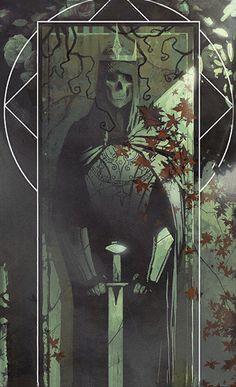 Dragon Age inquisition tarot card codex