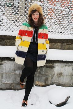 One of my longstanding Value Village dreams is to find a vintage Hudson's Bay jacket.