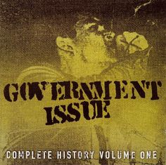 "Dr. Strange Records Releases: Government Issue ""Complete History Volume One"" 2-Disc CD #hardcore #punk from Washington DC (DSR-80)  Just $8.00 Mail-Order/In-Store!! www.drstrange.com OR Download from Itunes: https://itunes.apple.com/us/album/complete-history-vol.-1/id341101552"