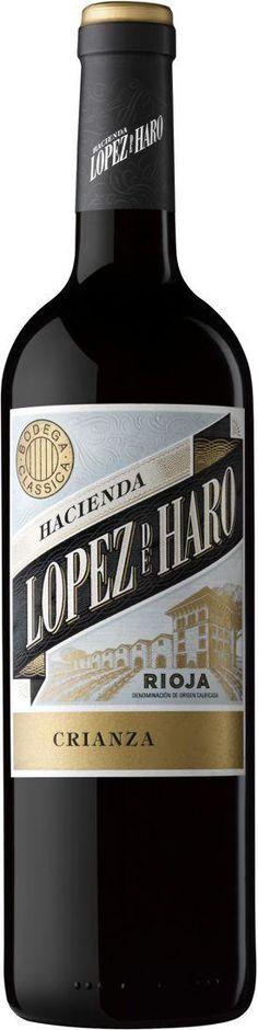 Hacienda López de Haro Crianza 2014 desde $6.91