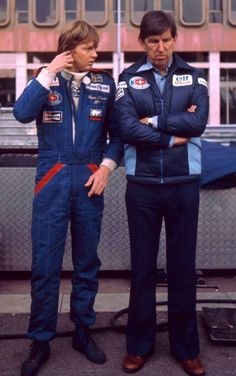 1977 - Ronnie Peterson and Ken Tyrrell