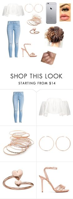 """Spring"" by rainleigh911 on Polyvore featuring H&M, Red Camel, Anita Ko, Alex and Ani and Charlotte Olympia"