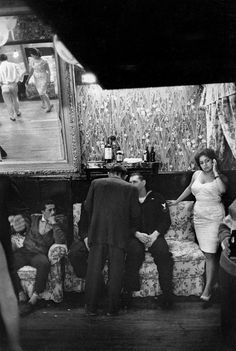 Sergio Larrain - Valparaiso. Bar 'El 43'. 1963.
