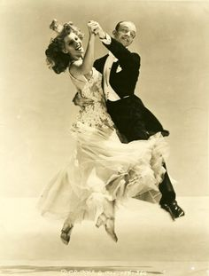 Fred Astaire and Rita Hayworth -- dancing = FREEDOM!