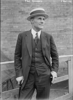 """George Lewis """"Tex"""" Rickard (January 2, 1870 – January 6, 1929) was an American boxing promoter, founder of the New York Rangers of the National Hockey League (NHL), and builder of the third incarnation of Madison Square Garden in New York City. During the 1920s, Tex Rickard was the leading promoter of the day, and he has been compared to P. T. Barnum and Don King. Sports journalist Frank Deford has written that Rickard """"first recognized the potential of the star system."""" Rickard also…"""
