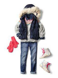 Kids Clothing: Girls Clothing: Featured Outfits Jeans | Gap