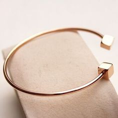 Find More Bangles Information about rose/silver 2 colors double square bangles/6cm,High Quality square marble coffee table,China bangle bracelet Suppliers, Cheap bangle watch from Romon on Aliexpress.com