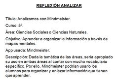 Reflexión Analizar M Learning, Math Equations, Socialism, Mind Maps, Social Science, Vocabulary