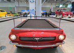 Mustang Game | ... Show: Play pool on a '65 Ford Mustang - Boston Overdrive - Boston.com