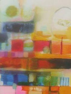 "Saatchi Art Artist Sarah Stokes; Painting, ""between the levels"" #art"