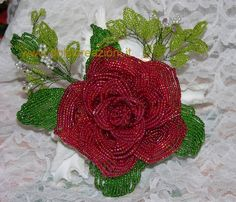 Bomboniere - Fiori di perline - Beaded Flowers