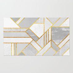 Gold City rug by Elisabeth Fredriksson
