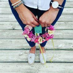 Wianek na głowę  #cudne_wianki #wreath #handmade