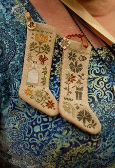 my needlework, my coffee, my life Cat Cross Stitches, Cross Stitch Samplers, Counted Cross Stitch Patterns, Cross Stitch Designs, Cross Stitching, Cross Stitch Christmas Stockings, Cross Stitch Stocking, Christmas Stocking Pattern, Christmas Cross