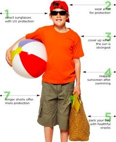 Summer Sun Safety For Kids: 4 Ways To Protect Your Kids From The Sun
