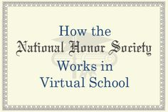 How the National Honor Society Works in Virtual School. Enter our Pin to Prepare #contest: expi.co/0SJpD